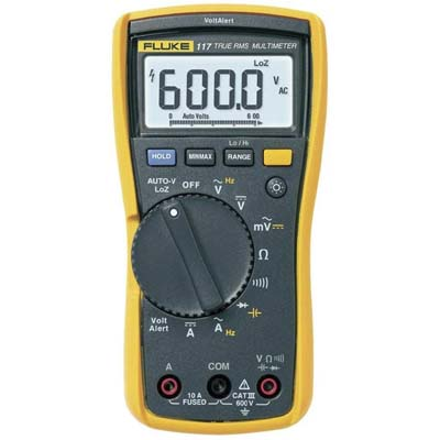 10. Fluke 117 Electricians True RMS Multimeter