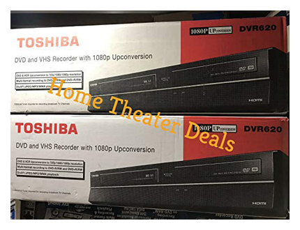 Toshiba VHS/DVD Recorder 2009 Model No Tuner DVR620