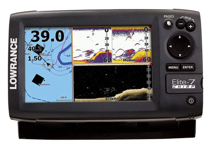 Lowrance Elite-7 Navionics Cartography Chirp Fish Finder