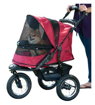 Pet Gear One-Hand Zipperless Jogger Dog Stroller