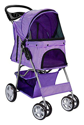 Paws & Pals 4-Wheel Elite Dog Jogger Pet Stroller