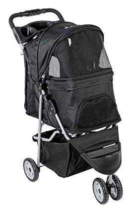 Vivo Multiple Three Wheel Fordable Pet Stroller