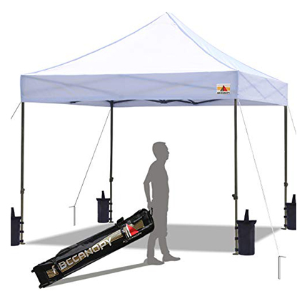 ABCCanopy Commercial Pop-Up Instant Canopy Tent 10x10 Feet