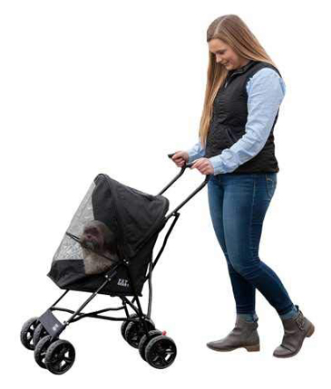 Pet Gear Lightweight Compact 38-Inch Travel Dog Stroller