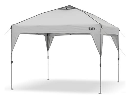 CORE Pop-Up Canopy Tent Instant Shelter 10x10 Feet