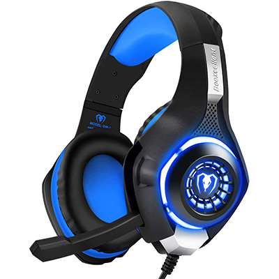 2. BlueFire Professional PS4 Gaming Headset