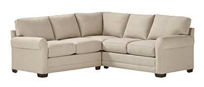 Stone & Beam Kristin Performance Fabric Sectional Sofa Couch