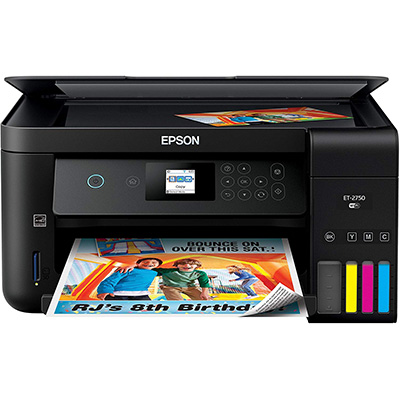 1. Epson Expression ET-2750 All-in-One Color Printer