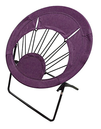 Impact 0460020008VC Canopy Folding Purple Bungee Chair
