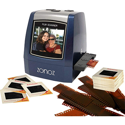 8. ZONOZ FS-3 All-in-1 Film and Slide Scanner