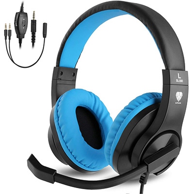 6. BlueFire Over-Ear Gaming Headphones