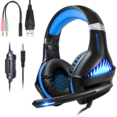 10. BlueFire Pro PS4 Gaming Headsets