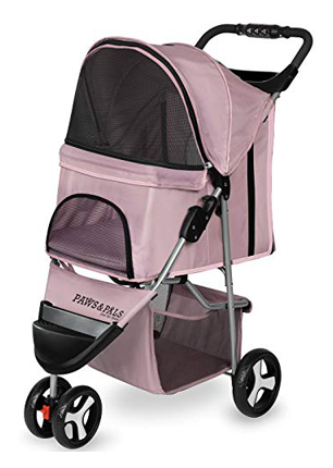Paws & Pals Small and Medium Dog Stroller Three Wheels