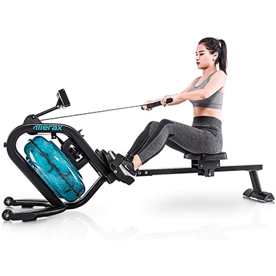 10. Merax Water Rowing Machine