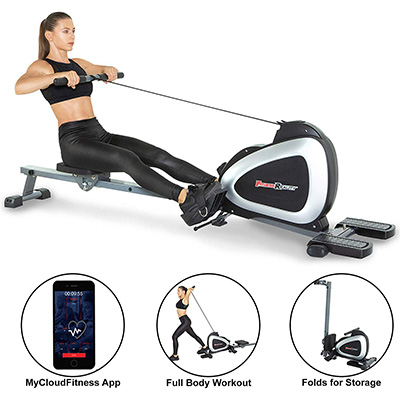 6. Fitness Reality 2636 Rowing Machine