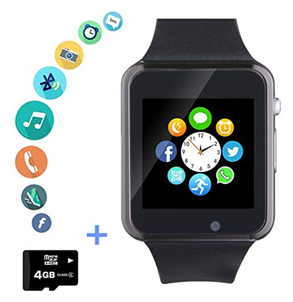 Amazqi Music Player Kids Smart Watch With SD Card
