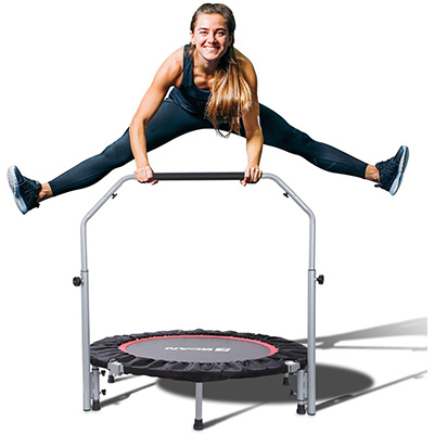 10. BCAN 40-Inch Foldable Trampoline
