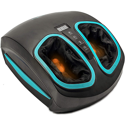 9. InvoSpa FMSS-604 Shiatsu Foot Massager