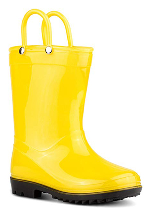 Zoogs Boys and Girls Rain Boots for Toddlers and Little Kids
