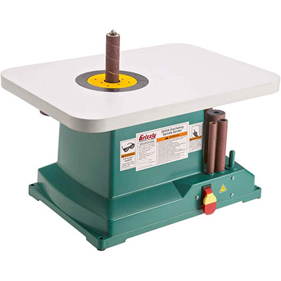 8. Grizzly Industrial G0538 Oscillating Spindle Sander
