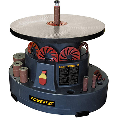 6. POWERTEC OS1000 Oscillating Spindle Sander