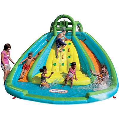 3. Little Tikes Rocky Mountain Inflatable Slide Bouncer