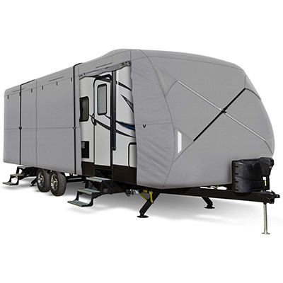 4. Leader Accessories Windproof Travel Trailer Cover