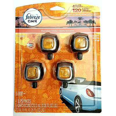 3. Febreze Hawaiian Aloha Car Air Freshener