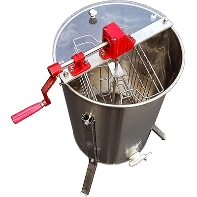 4. Goodland Bee Supply Professional 2-Frame Honey Extractor