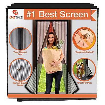 9. iGotTech Magnetic Screen Door