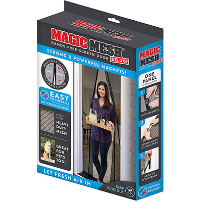 5. Magic Mesh New & Improved Hands-Free Magnetic Screen Doors