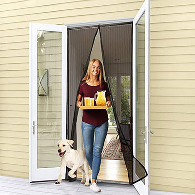 10. Flux Phenom Reinforced Magnetic Screen Door