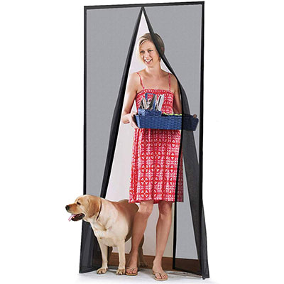 6. Homitt [Upgraded Version] Magnetic Screen Door