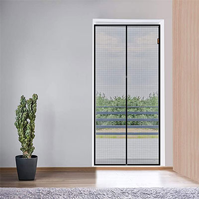 7. MAGZO Magnetic Screen Door 36 by 82-inch