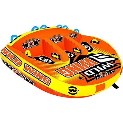 10. WOW Sports Wild Wing Towable Tube