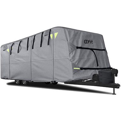 10. OOFIT Travel Trailer Cover