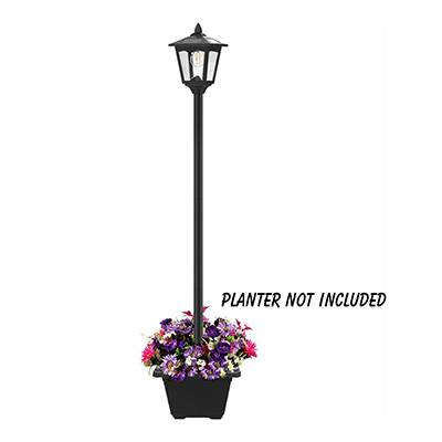 "7. Greluna 67"" Solar Lamp Post Lights Outdoor"