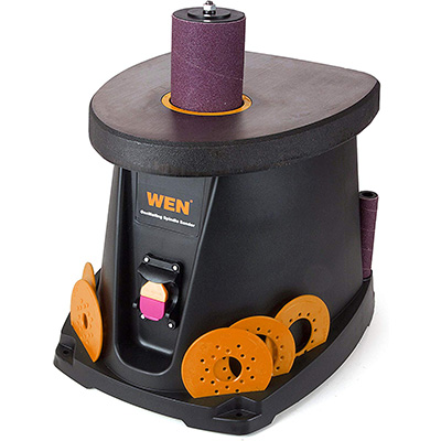 1. WEN 6510T Oscillating Spindle Sander