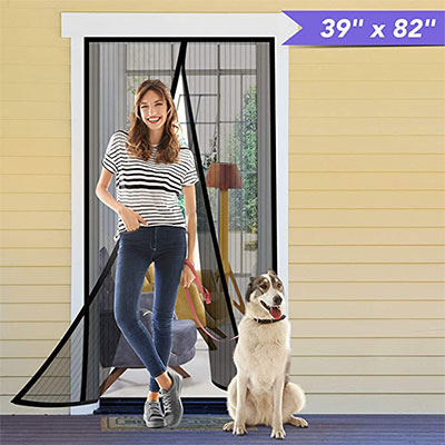 2. Titan Mall Magnetic Screen Door
