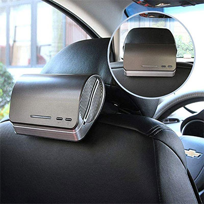 2. Car Air Purifier and Ionizer
