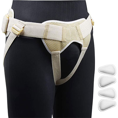 1. REAQER Inguinal Hernia Belt Support