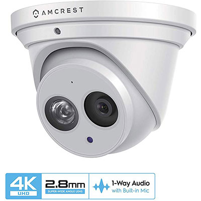 9. Amcrest UltraHD 4K Outdoor Camera