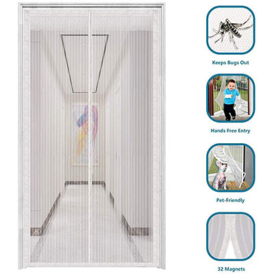 1. innotree 2020 Upgraded Magnetic Screen Door