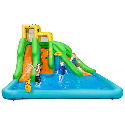 10. BOUNTECH Inflatable Water Pool and Bounce House