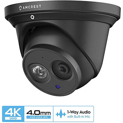 2. Amcrest UltraHD 4K IP Turret Camera