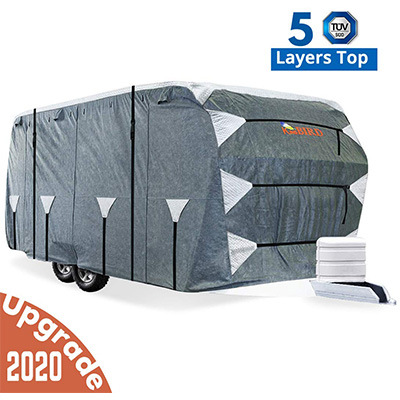 7. KING BIRD Travel Trailer Cover