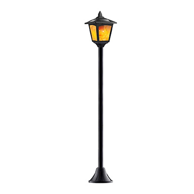 "2. Shengsite 47"" Outdoor Flame Solar Lights"