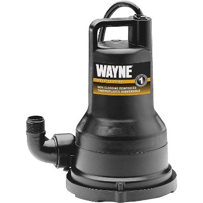 2. Wayne 1/2 HP Thermoplastic Portable Water Removal Pump (VIP50)