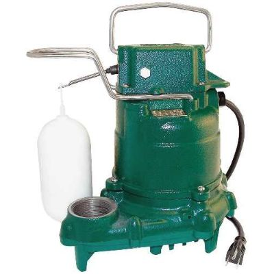 6. Zoeller 1/3 Hp Submersible Sump Pump (M53)