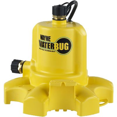 4. Wayne Submersible Pump with Multi-Flo Technology (WWB WaterBUG)